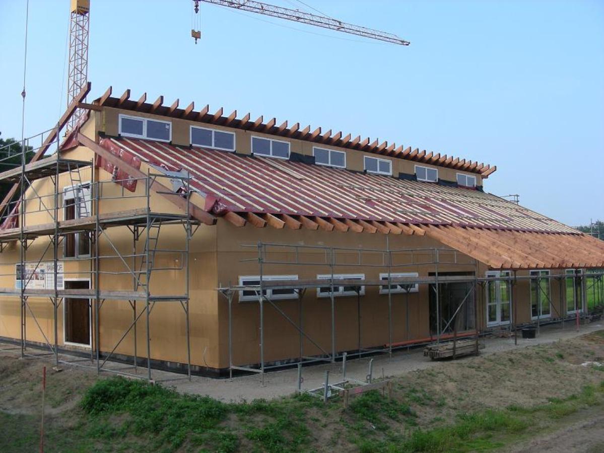 DJK TUS Stenern Vereinsheim in Holzbauweise