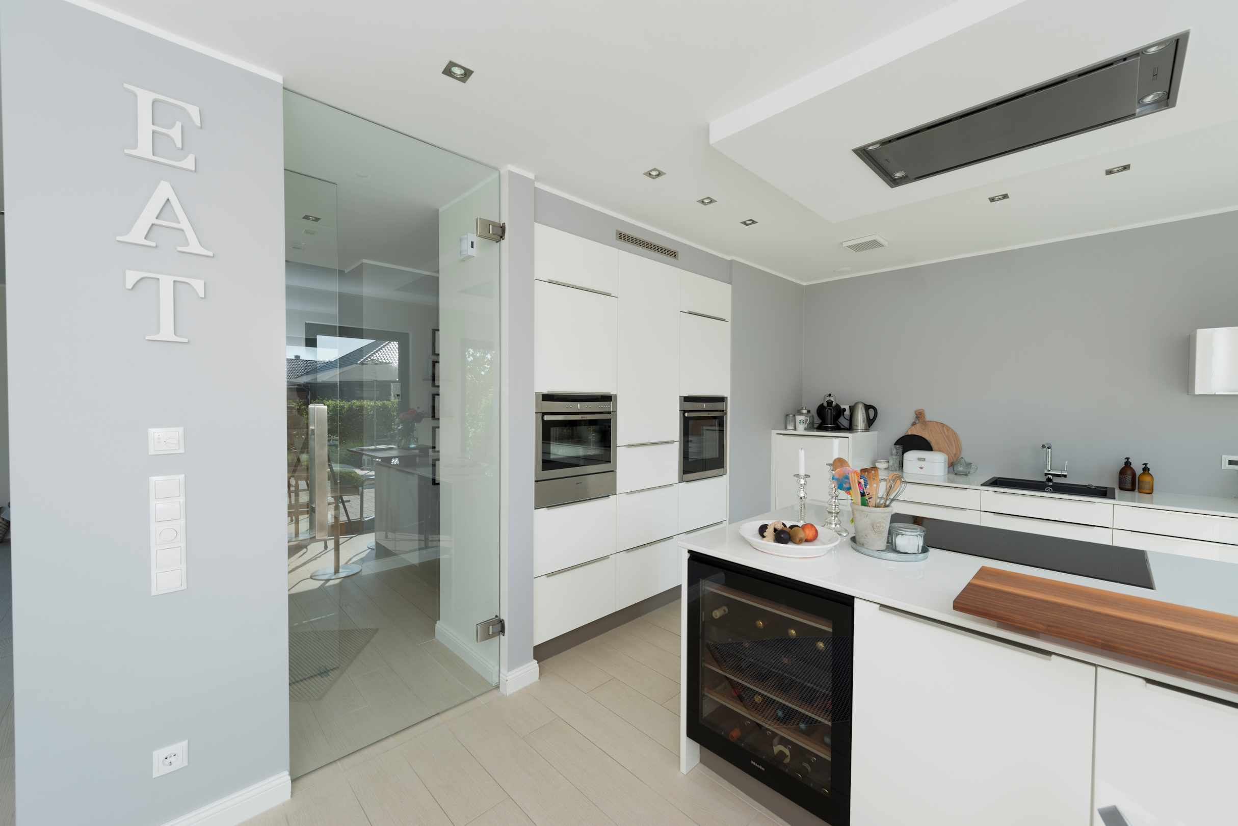 individuelles Holzhaus, Küche