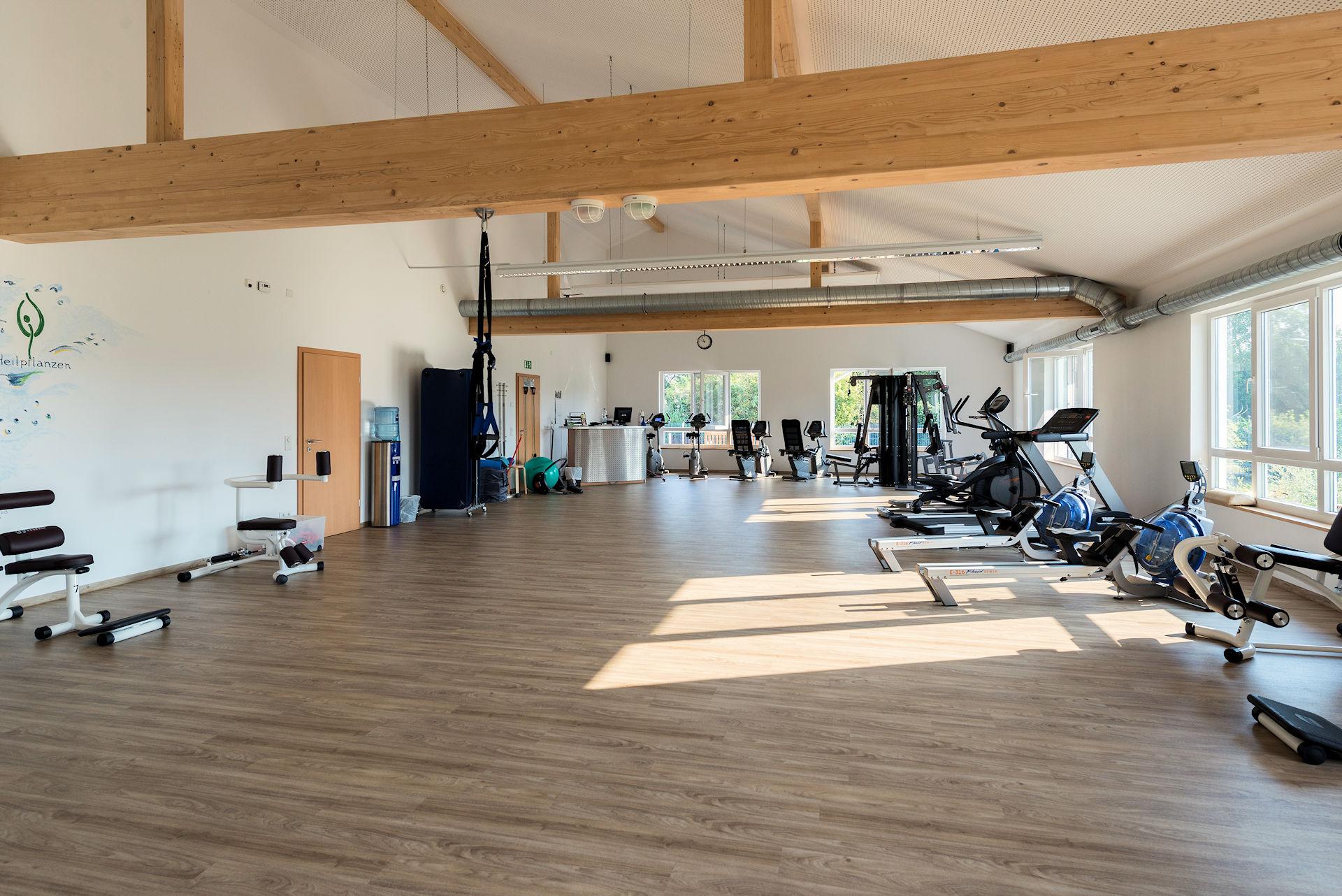 Fitnesshalle Kneipp-Verein Bocholt Holzbau