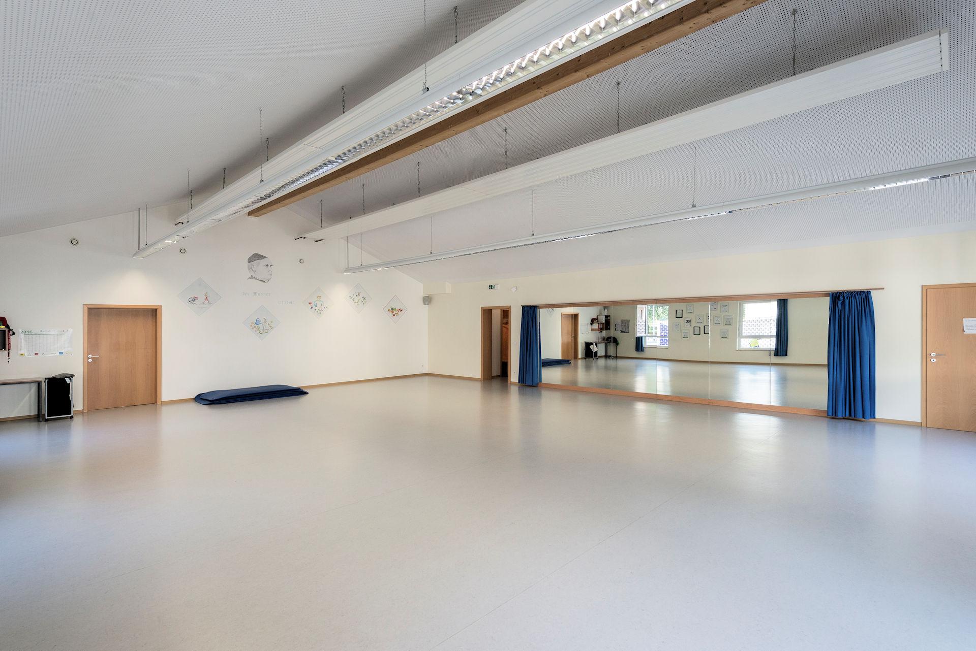Sporthalle Kneipp-Verein Bocholt Holzbau