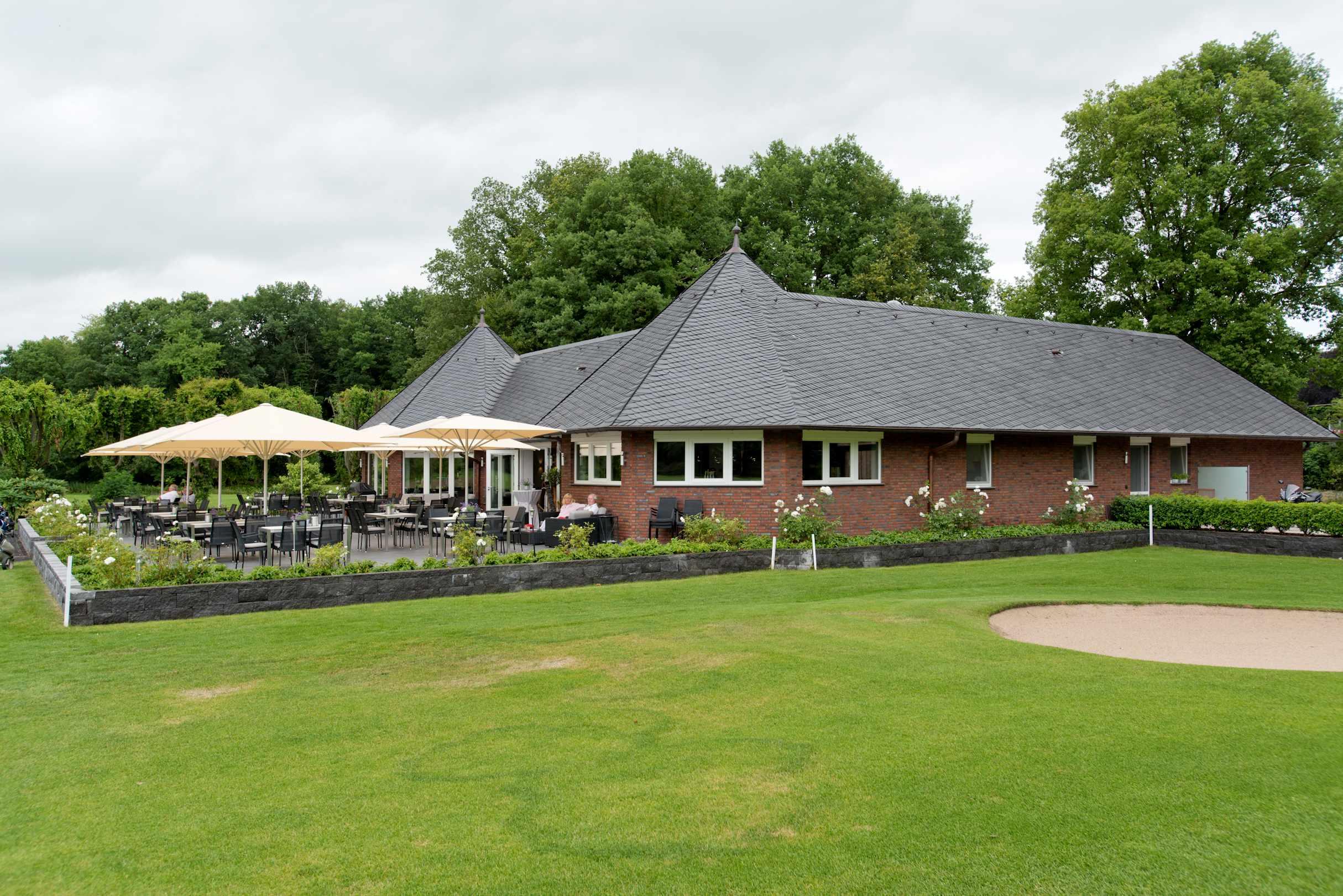 Golfclub Wasserburg Anholt Holzbau