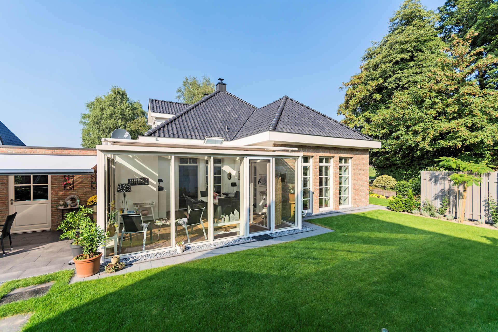 möglichst barrierefreies Holzhaus altersgerecht gebaut