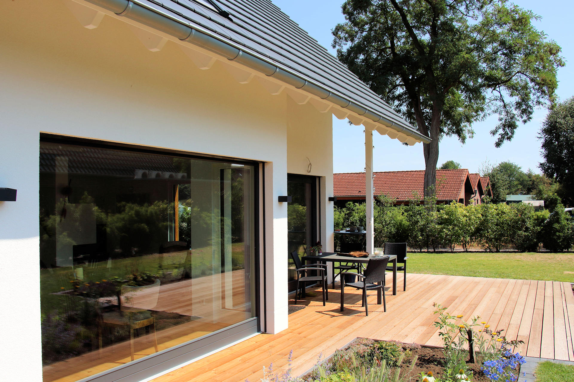 möglichst barrierefrei leben im Holzhaus
