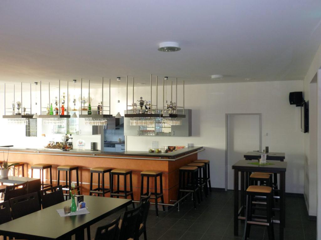 Clubraum einer Sportanlage, gebaut von Kampshoff GmbH