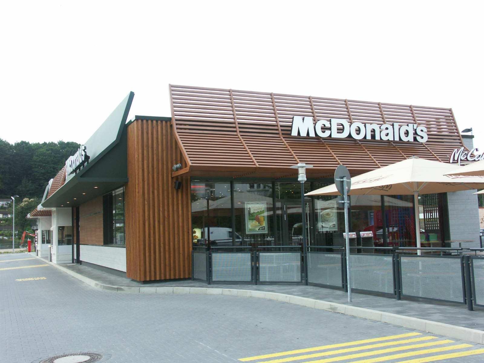 Schnellrestaurant Erweiterung in Holzbauweise