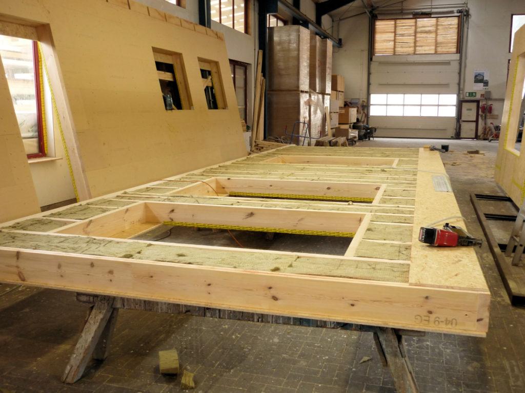 energieeffizienter Holzrahmenbau