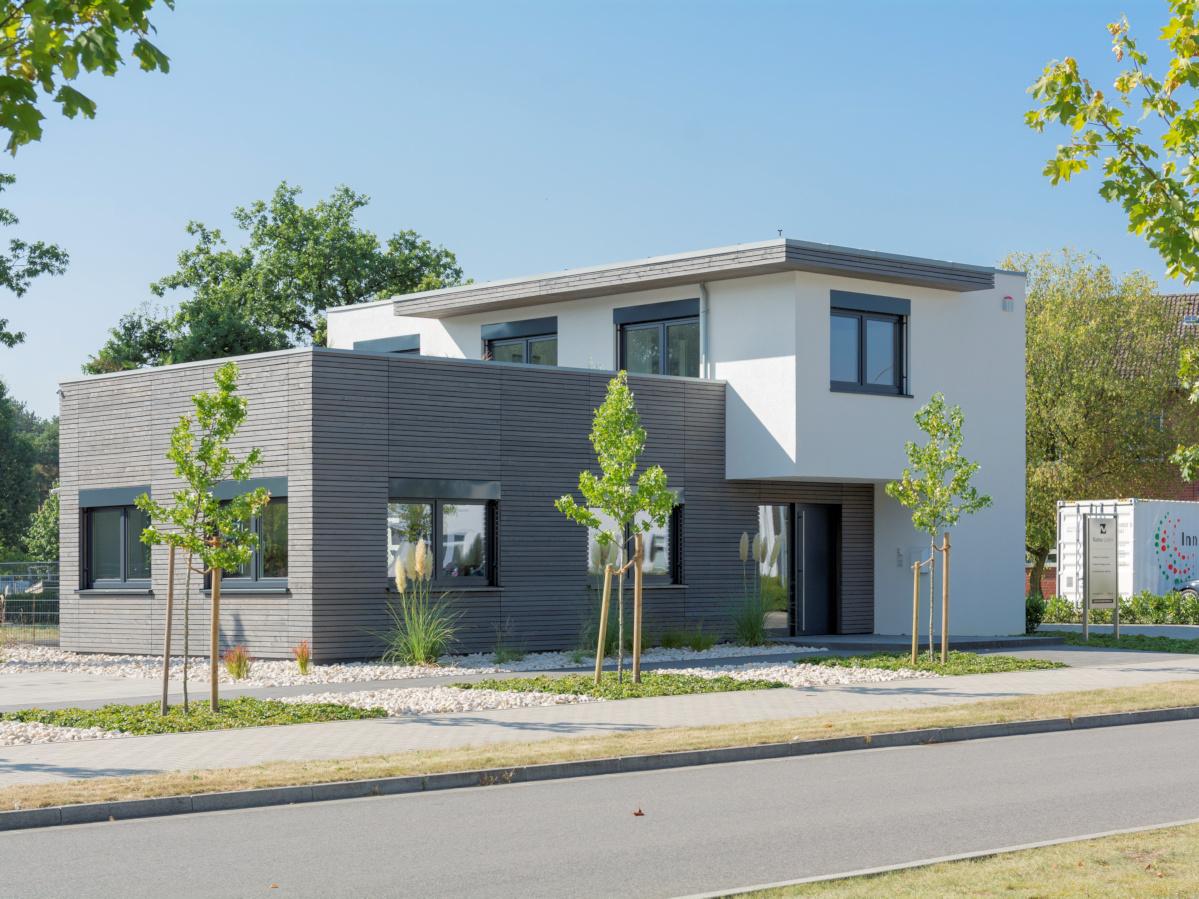 Verwaltungsgebäude in Holzbauweise
