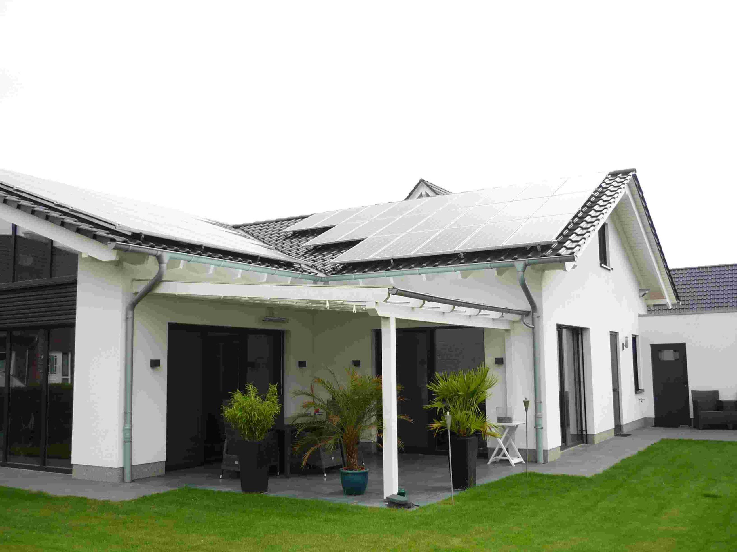 barrierefreier Satteldach-Bungalow, wohnen im Erdgeschoß